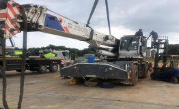 2012 Zoomlion RT35 - 35 Ton Rough Terrain Crane - Fire Damaged (4)