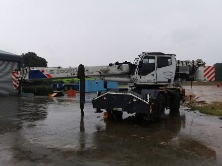 2012 Zoomlion RT35 - 35 Ton Rough Terrain Crane - Fire Damaged (5)