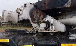 2012 Zoomlion RT35 - 35 Ton Rough Terrain Crane - Fire Damaged (7)