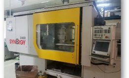 2013 Netstal Synergy 2400-1700 Injection Moulding Machine, Hopper Loader and Con
