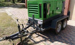 2013 Trailer Mounted Generator, Atlas Copco LeRoy Somer Sound Attenuated (1)