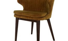 Brown Wingback Chair
