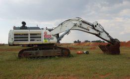 Liebherr R9100 Excavator