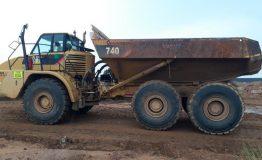 2012 Caterpillar 740 Articulated Dump Truck