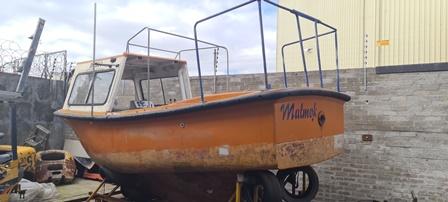 Malmok Motorboat (1)